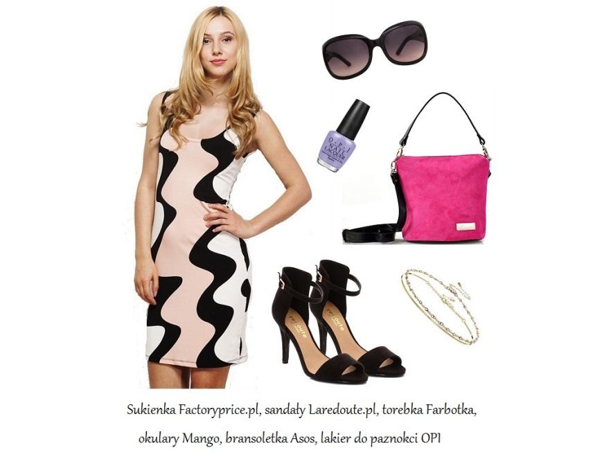 Wzorzystne sukienki na lato 2014