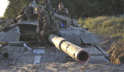 Czołg armii ukraińskiej