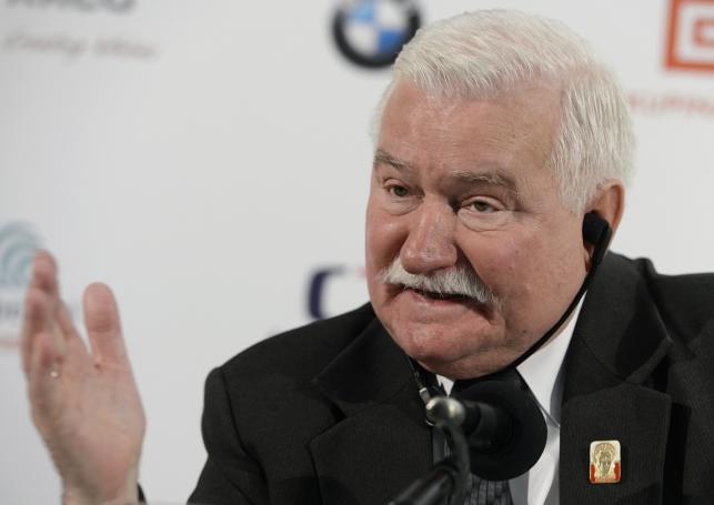 Lech Wałęsa na festiwalu w Karlowych Warach