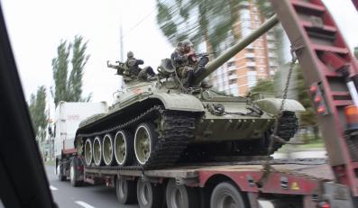 Muzealny czołg w rękach separatystów