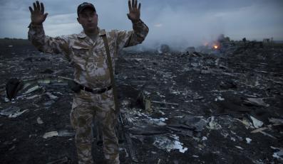 Szczątki zestrzelonego nad Ukrainą malezyjskiego samolotu
