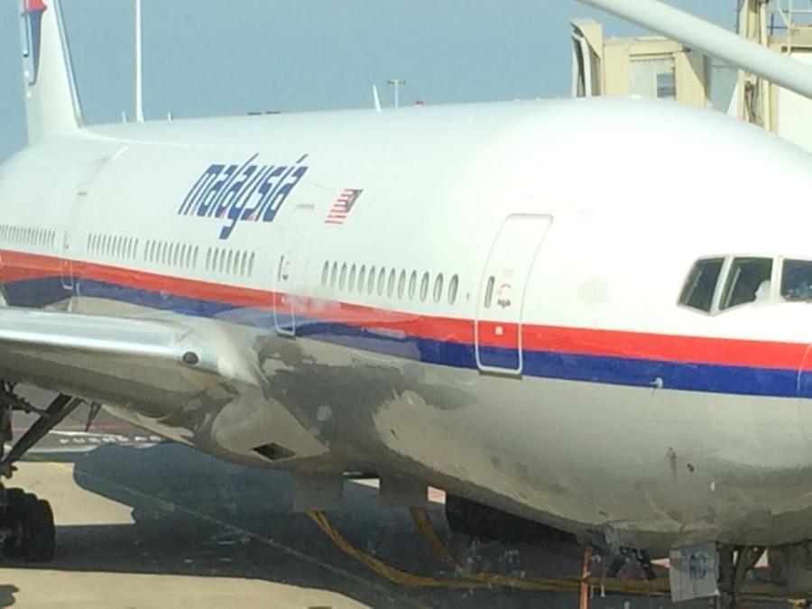 Zdjęcie zestrzelonego samolotu zrobione przez pasażera z Holandii przed startem maszyny z Amsterdamu