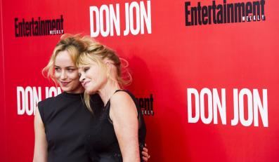 Dakota Johnson z mamą Melanie Griffith