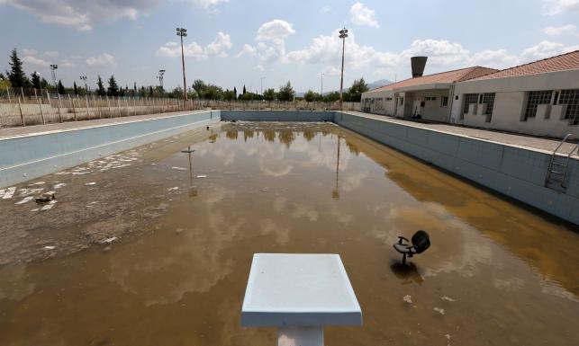 Gruz, ruiny i śmieci... Ateńska wioska olimpijska 10 lat po igrzyskach