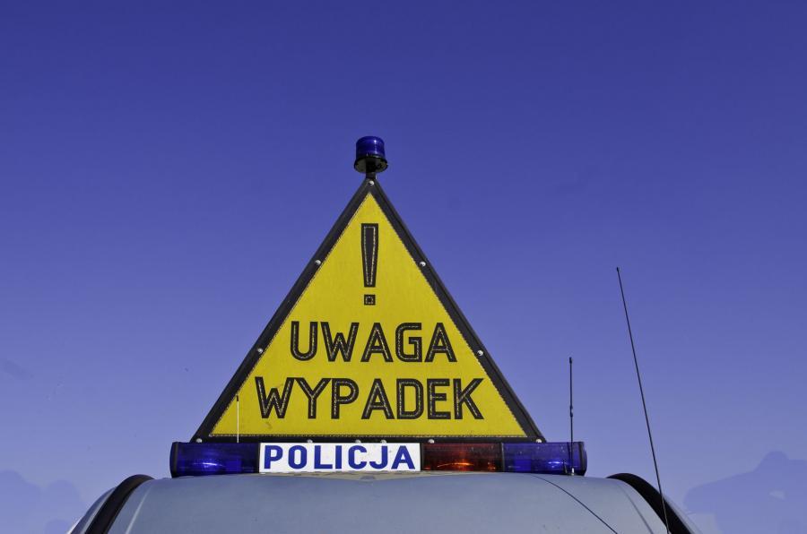 Policyjne oznaczenie wypadku