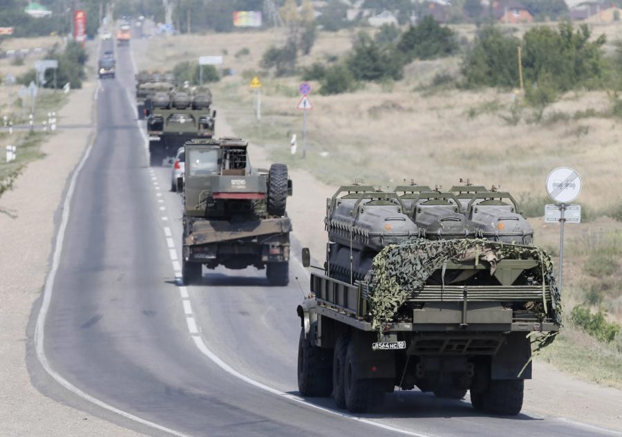 Rosyjskie pojazdy opancerzone