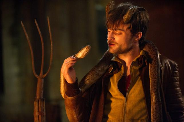 "Daniel Radcliffe w filmie ""Horns"""