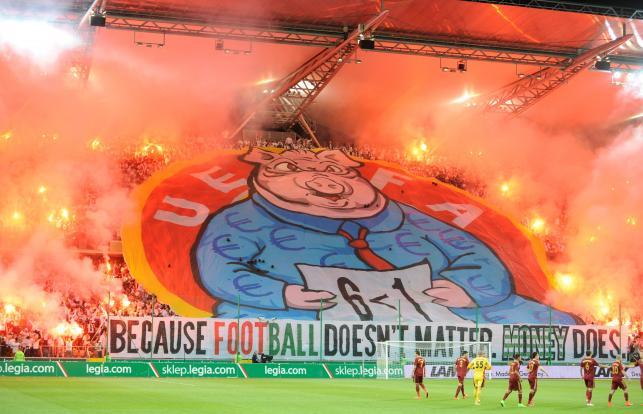Legia znów zostanie ukarana przez UEFA. Grozi jej wykluczenie z Ligi Europy?