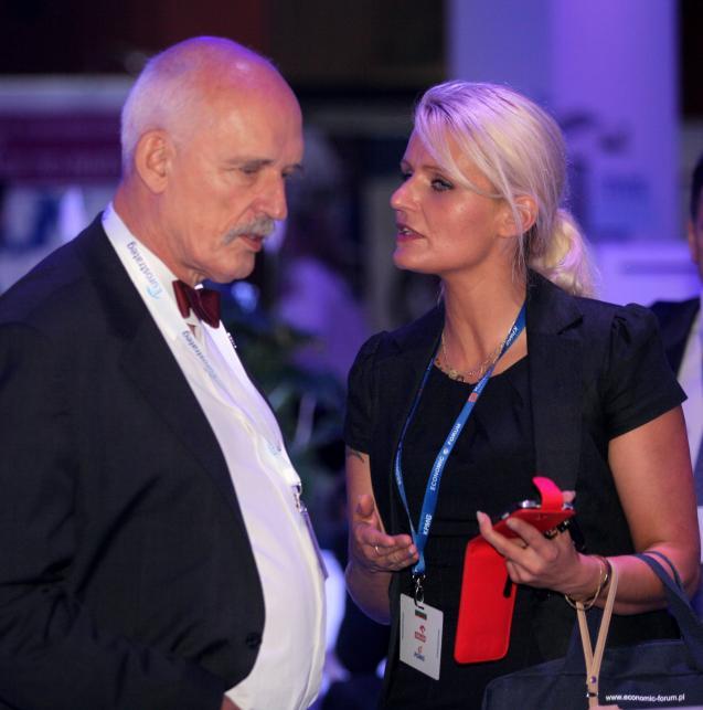 Korynna Korwin-Mikke, córka Janusza Korwin-Mikkego