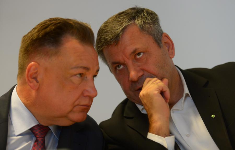 Adam Struzik i Janusz Piechociński
