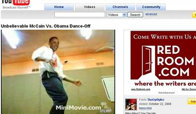 Zobacz, kto tańczy lepiej: Obama czy McCain?