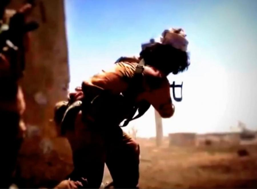 Terroryści z Państwa Islamskiego opublikowali film, na którym pokazali, jak walczą
