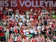 Mistrzostwa świata w siatkówce: kibice na meczu Polska - Niemcy