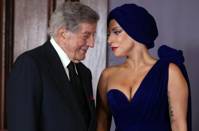 Lady Gaga i Tony Bennett w Brukseli promowali wspólną płytę