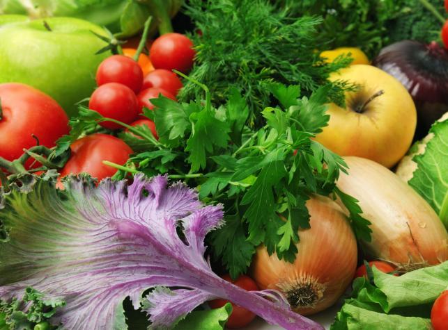 1. Owoce i warzywa są pożywne w każdej postaci