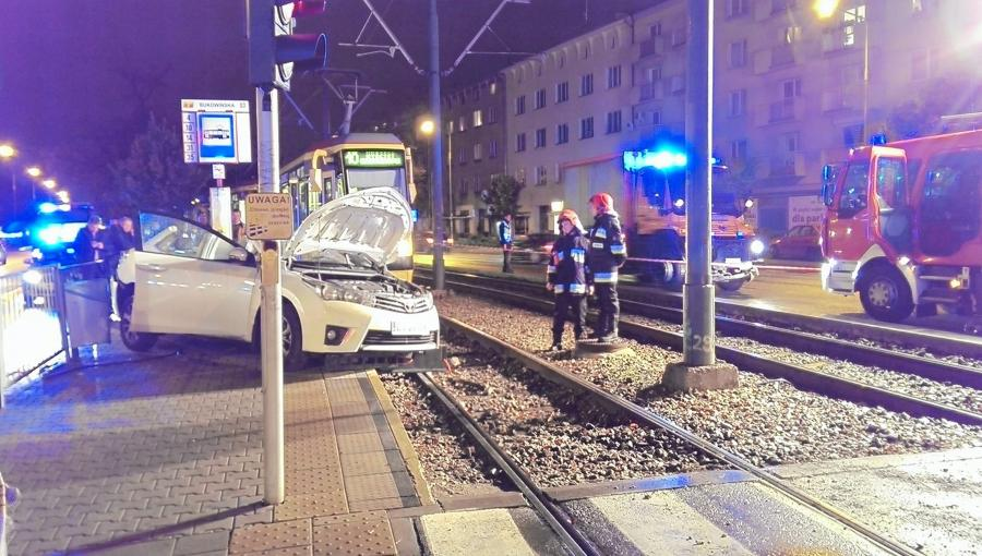 Auto posła PiS Zbigniewa Girzyńskiego po wypadku