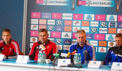Konferencja prasowa przed Wielkimi Derbami Śląska