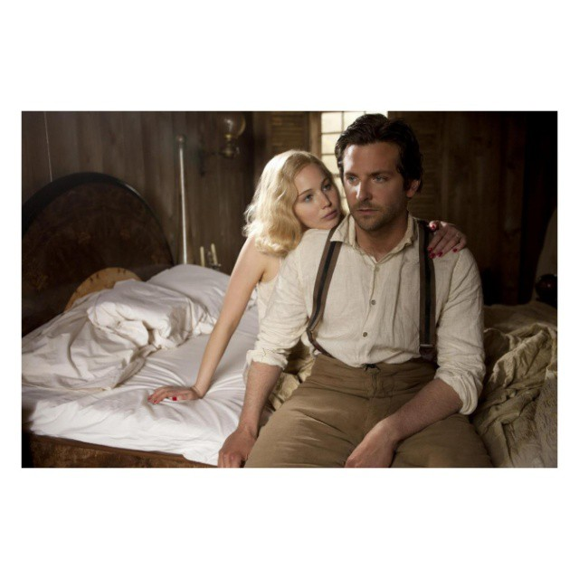 "Jennifer Lawrence i Bradley Cooper w filmie ""Serena"""