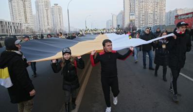 """""""Ruski marsz"""" w Moskwie"""