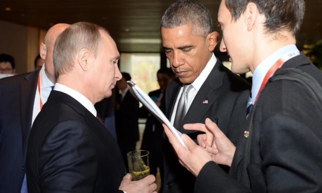 Wielkie chińskie manewry. Nieoczekiwane spotkanie Obama-Putin