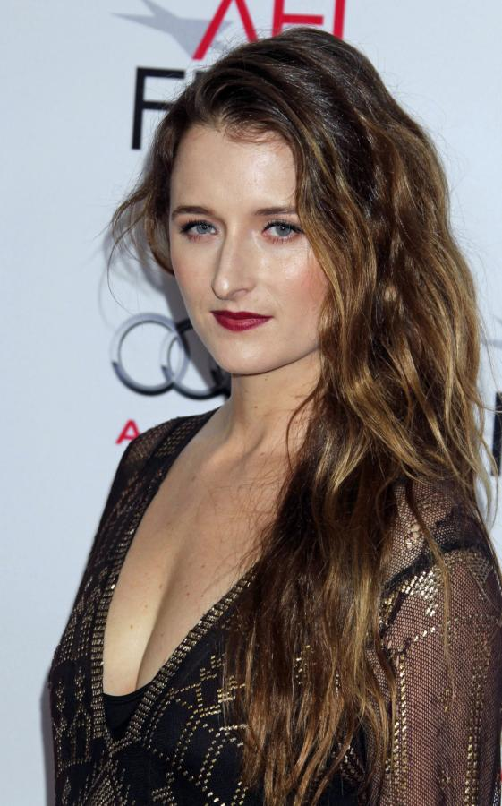 "Grace Gummer na premierze ""The Homesman"" w Hollywood"