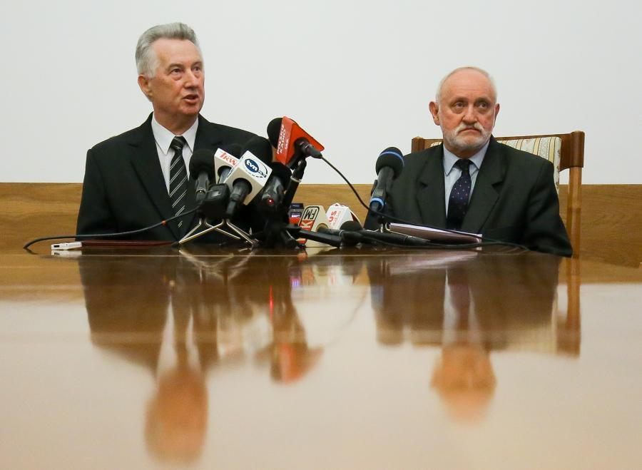 Stefan Jaworski i Kazimierz Czaplicki z PKW