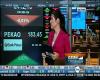 Kadr z programu TVN CNBC, przemianowanego na TVN24 BiŚ