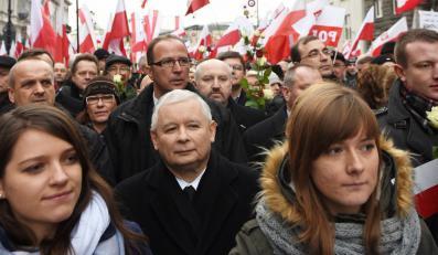 """Jarosław Kaczyński na """"Marszu w Obronie Demokracji i Wolności Mediów"""""""