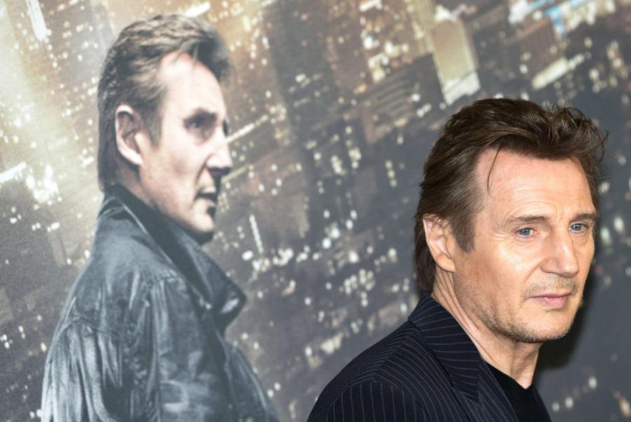 Liam Neeson promował \