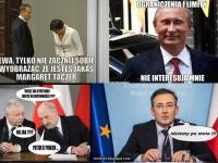Kaczyński, Tusk i Putin bohaterami drwin internautów. Najlepsze memy 2014 roku
