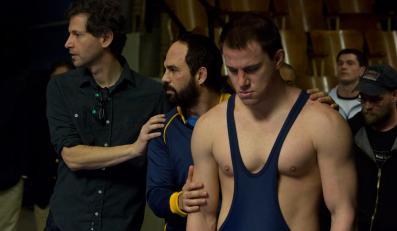"Channing Tatum i Mark Ruffalo w filmie ""Foxcatcher"""