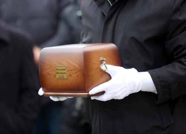 Uroczystości pogrzebowe Krzysztofa Krauzego