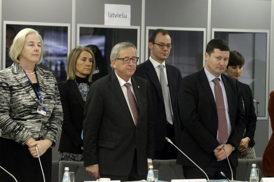 Jean-Claude Juncker w Rydze