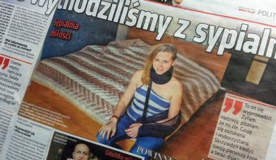 """""""Super Express"""" publikuje intymne zwierzenia Isabel Marcinkiewicz"""