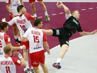 Polacy drogę po medal na mundialu w Katarze zaczęli od porażki z Niemcami. ZDJĘCIA
