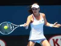 Australian Open: Agnieszka Radwańska w 4. rundzie. ZDJĘCIA