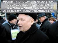 O czym śni Kaczyński i przed czym ksiądz przestrzega Pawłowicz? MEMY DNIA