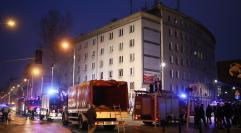 Wybuch nie uszkodził konstrukcji kamienicy przy Noakowskiego