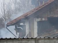 Wybuch pieca zniszczył dom w Poznaniu. ZDJĘCIA