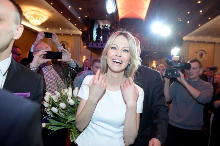 Kandydatka SLD na prezydenta Magdalena Ogórek rozpoczęła kampanię wyborczą
