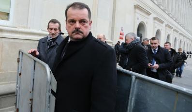 Lider rolniczych OPZZ Sławomir Izdebski