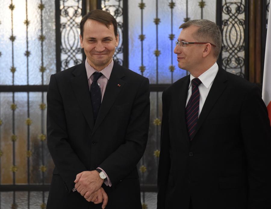 Radosław Sikorski i Krzysztof Kwiatkowski