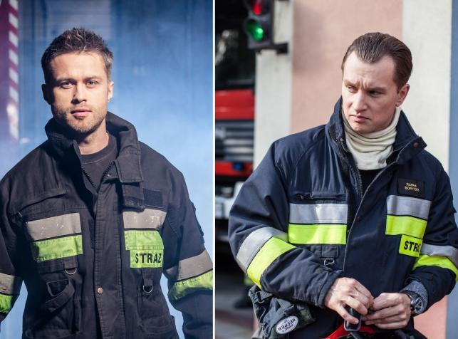 Strażacy / Fot. Grzegorz Gołębiowski/PROFILM