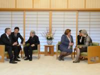 Komorowscy pojechali do Japonii. Zobacz, jak wyglądała audiencja u cesarza