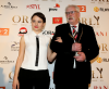 Orły 2015: Krzysztof Magowski (w towarzystwie Anny Próchniak)