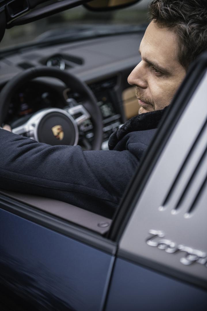 Wojciech Modest Amaro odebrał Porsche 911 Targa 4S