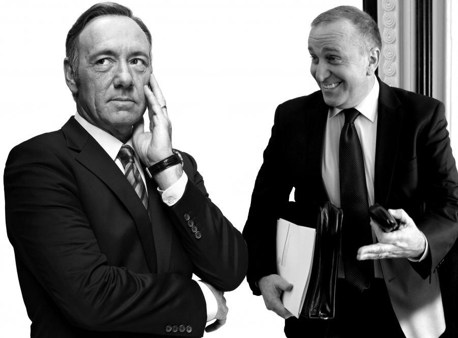 Frank Underwod i Grzegorz Schetyna (kolaż z wykorzystaniem materiałów prasowych i fot. Sławomir Kamiński / Agencja Gazeta)