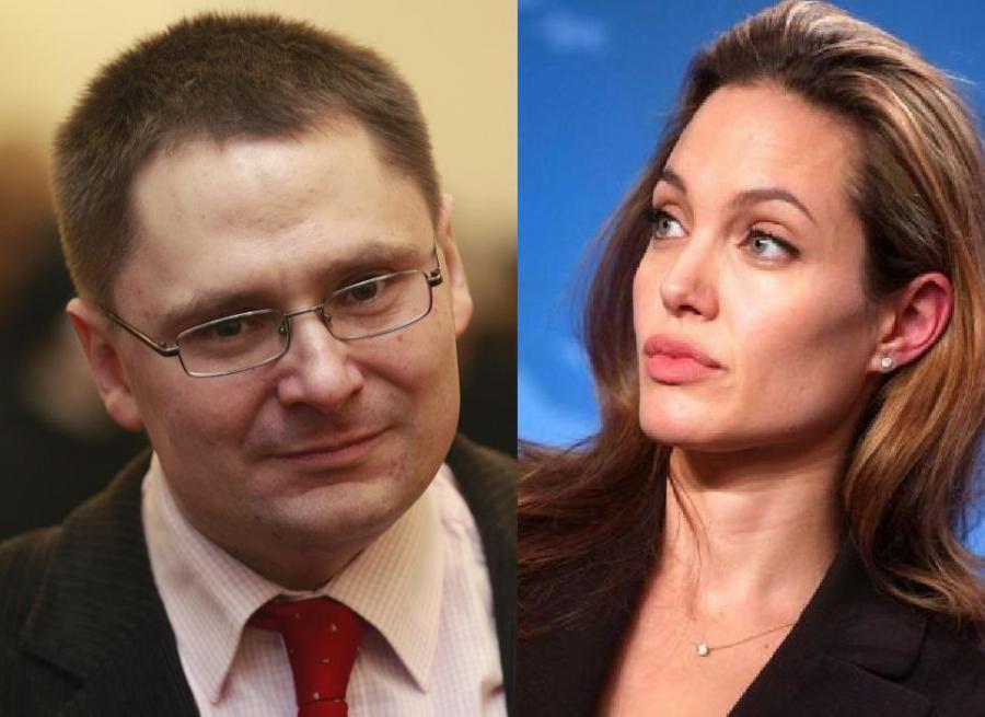 Tomasz Terlikowski, Angelina Jolie