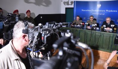 Konferencja prokuratury wojskowej