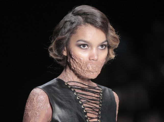 Pokaz Contrfashion na moskiewskim tygodniu mody